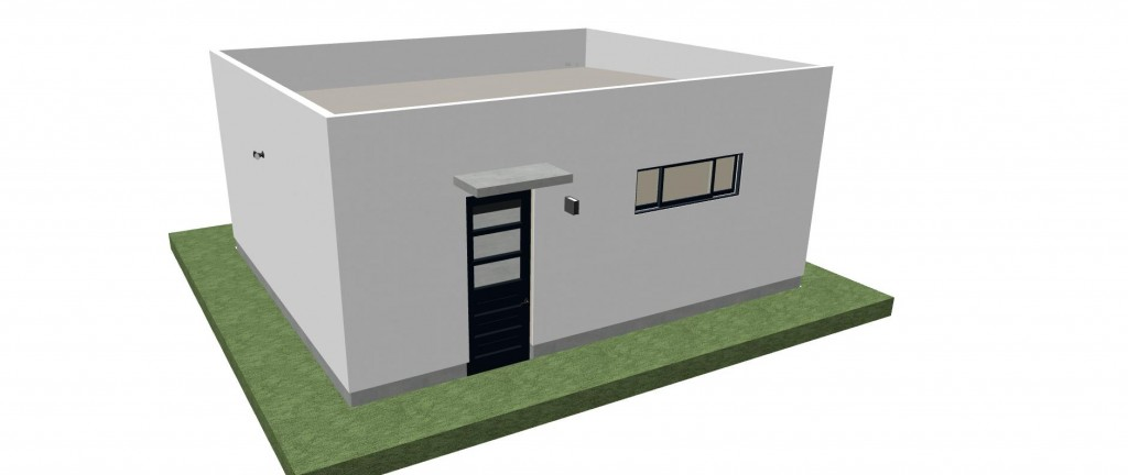 400-480 SQ. FT. Modern 2-Car Garage