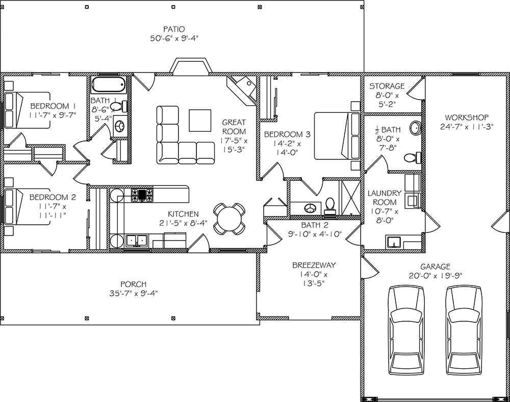 Adu floor plans onvacations wallpaper for Adu house plans