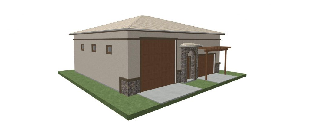 1,932 SQ. FT. Over Size RV/Multi-Vehicle Garage