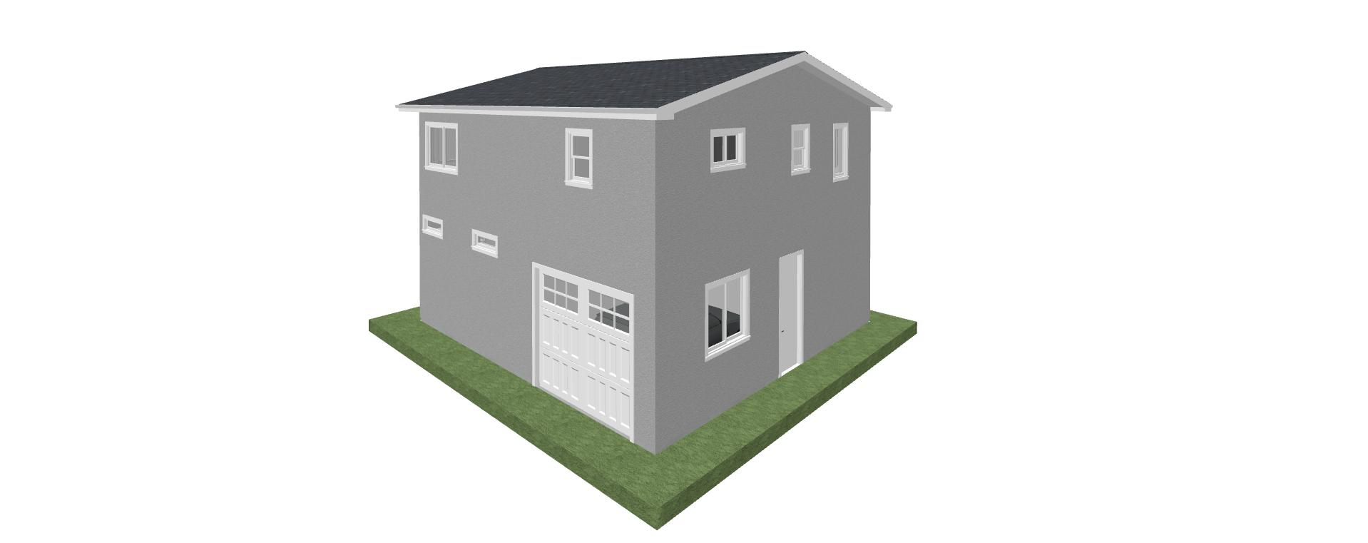 1,198 SQ.FT. 2 Story ADU